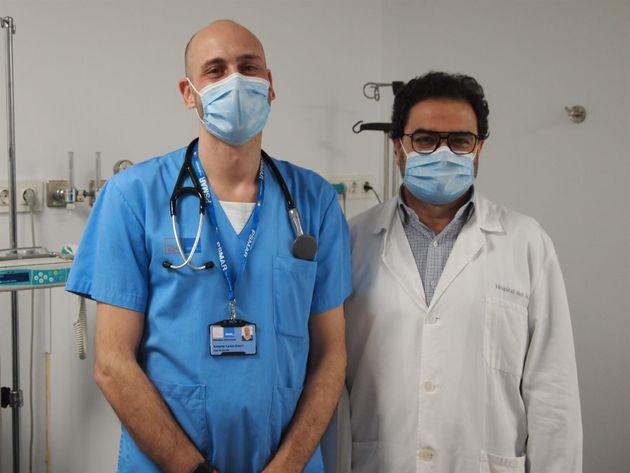 Robert Güerri y Juan Pablo Horcajada, autores del