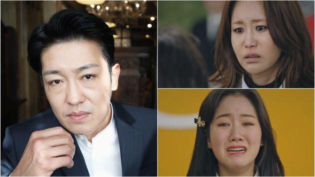 배우 허성태(왼) / 신은경(위),