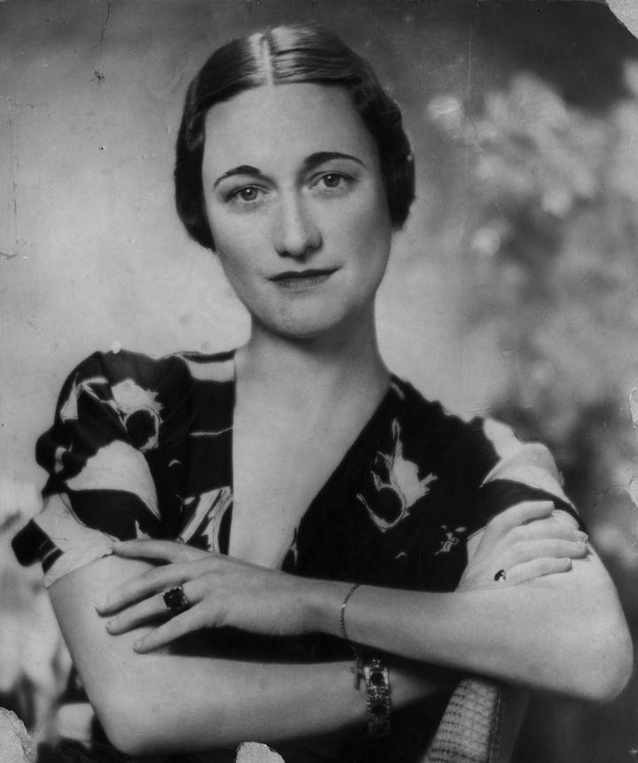 Retrato de Wallis Simpson.