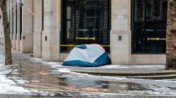 Security Guards In Central London Accused Of Filming Homeless People While They