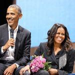 Μισέλ Ομπάμα: Οταν καθόμαστε με τις κόρες μας να φάμε, ο Μπαράκ κι εγώ δεν μπορούμε να σταυρώσουμε