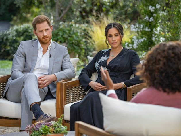 Prince Harry and Meghan Markle, the Duke and Duchess of Sussex, sit down for an interview with Oprah Winfrey.
