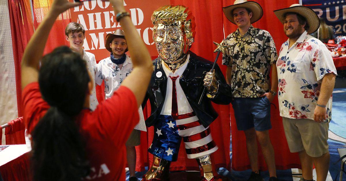 Les fans de Trump raffoleront sans doute moins de cette statue en sachant d'où elle vient