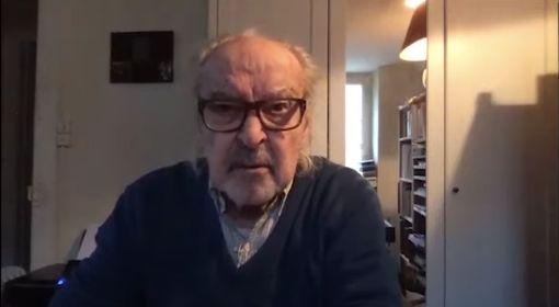 Interview de Jean Luc Godard lors de l'International Film Festival of Kerala le 2 mars
