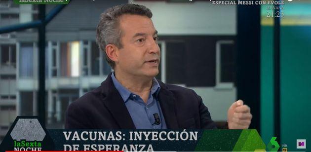 César Carballo, en 'La Sexta