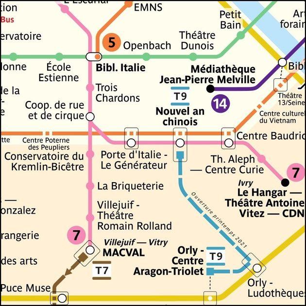 La station Villejuif-Léo Lagrange sur la ligne 7 devient