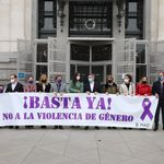 Ortega Smith (Vox) indigna por lo que ha hecho en el minuto de silencio por la última víctima de violencia