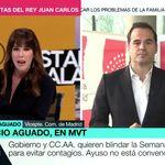 Mamen Mendizábal hace tragar saliva a Ignacio Aguado al recordarle este dato en 'Más Vale