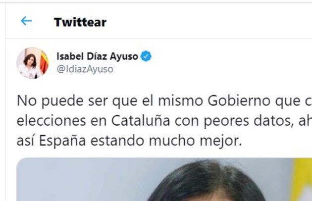 El polémico tuit de Díaz