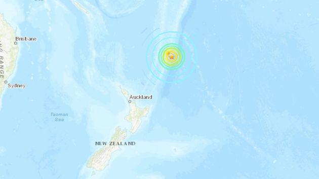 2e séisme près de la Nouvelle-Zélande, alerte au tsunami et