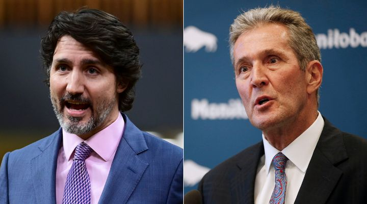 Prime Minister Justin Trudeau dismissed the story of a cancer patient who waited to see a doctor and a specialist, Manitoba Premier Brian Pallister claimed Thursday.