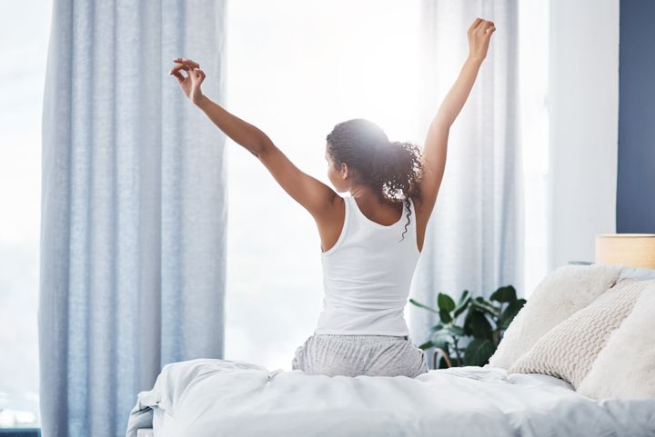 """""""If we start the day off on a note of anxiety instead of a slower note — when we're disconnected and experience some calm — that's going to carry through the rest of the day,"""" says one productivity expert."""