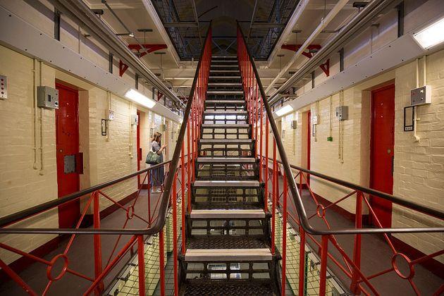 レディング旧刑務所の内観