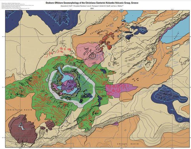 Ο πρώτος υποθαλάσσιος γεωμορφολογικός χάρτης της