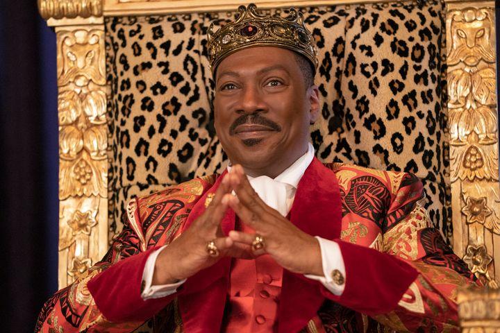 """Eddie Murphy as Prince Akeem in """"Coming 2 America."""""""