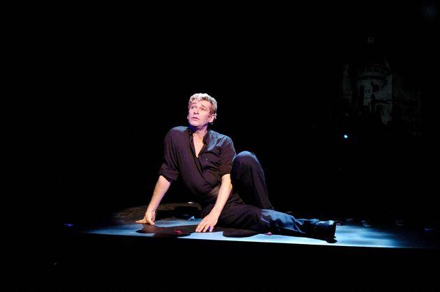 Le danseur étoile Patrick Dupond au théâtre Comédia à Paris, janvier