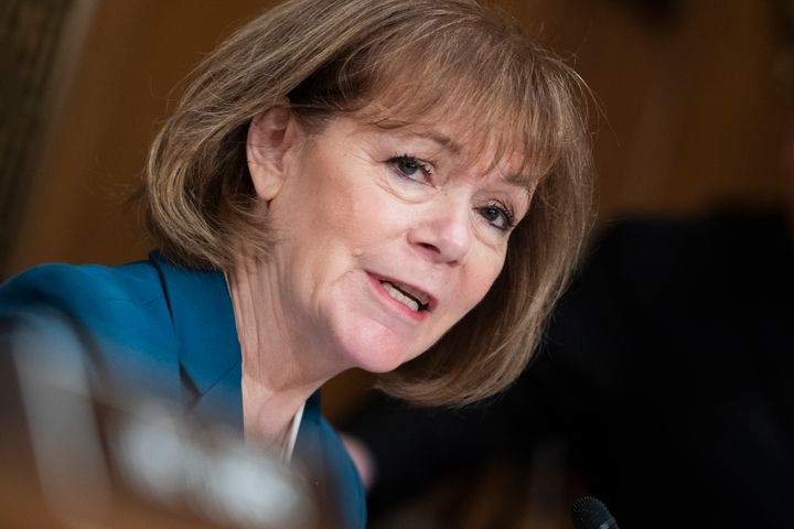 Sen. Tina Smith (D-Minn.) is the latest of her colleagues to announce her support for ending the filibuster.