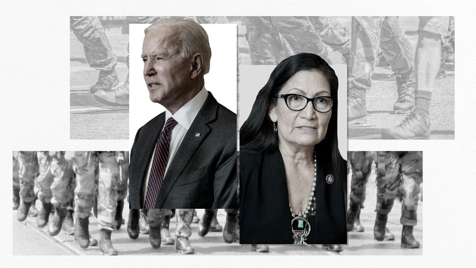 Rep. Deb Haaland, a New Mexico Democrat, is poised to become President Joe Biden's secretary of the interior.