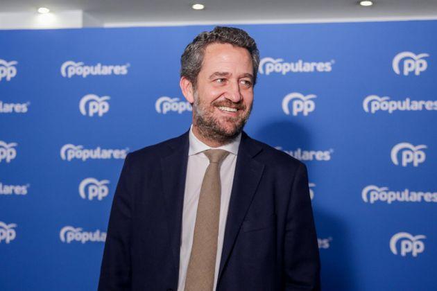 Imagen de archivo del vicesecretario de Participación del PP, Jaime de
