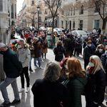 Indignación por las imágenes vistas frente al Cristo de Medinaceli en Madrid a tres días del
