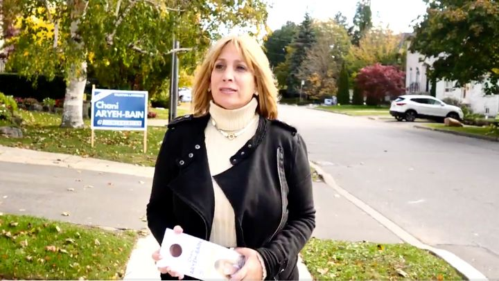 Former Eglinton–Lawrence candidate Chani Aryeh-Bain said the party informed her this week that she would not be on the nomination ballot for the federal riding of Thornhill.