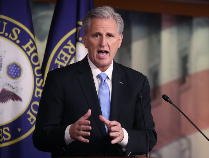 """House Minority Leader Kevin McCarthy (R-Calif.) thinks """"everybody across this country has some responsibility."""""""
