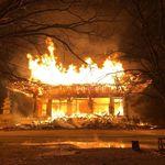 정읍 내장사 대웅전에 불을 지른 범인의 어이없는