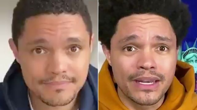 Trevor Noah's Hair Grows Before Your Very Eyes In Lockdown Anniversary Time-Lapse.jpg