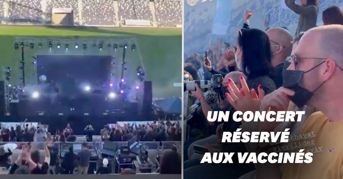 Tel-Aviv accueille le 1er concert au monde réservé aux vaccinés - Le HuffPost