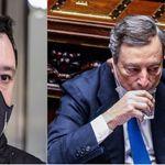 Com'è dolce il bla bla di Salvini con il Draghi sovranista (europeo) (di M.