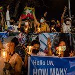 Μιανμάρ: Οι διαδηλωτές και πάλι στους δρόμους, o ΟΗΕ σε αδυναμία