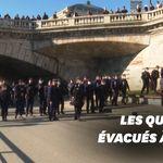 À Paris, les quais de Seine évacués par la police faute de respect