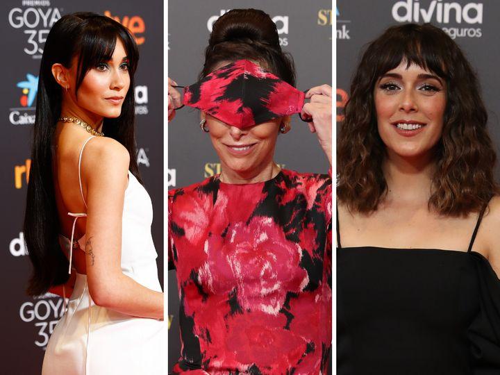 Aitana, María Barranco y Belén Cuesta.