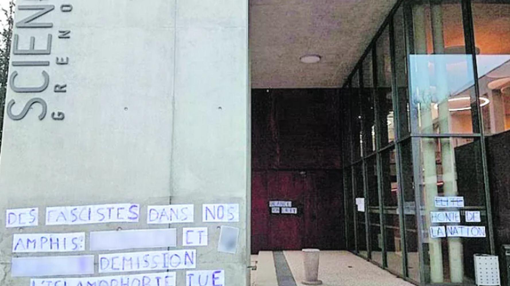 Affichage de professeurs à Sciences Po Grenoble: l'Unef retire la photo mais dénonce