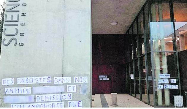Un affichage polémique à l'IEP de Grenoble contre des professeurs accusés