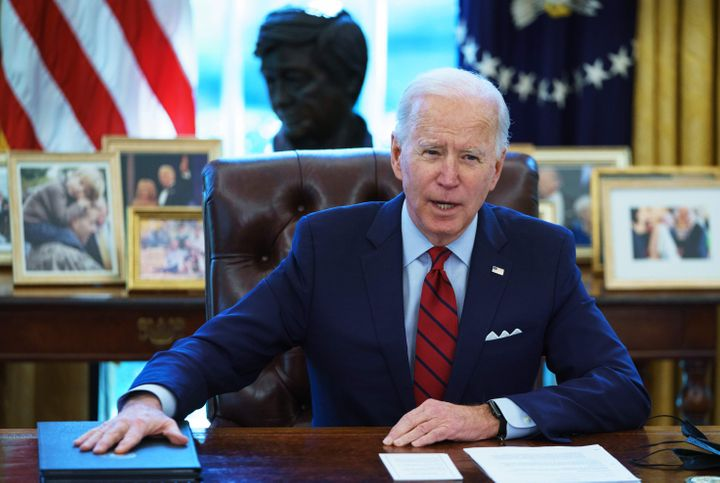 """In remarks to the Martin Luther and Coretta Scott King Unity Breakfast, President Joe Biden warned of an """"all-out assau"""