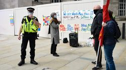 Organiser Of NHS Pay Protest In Manchester Fined £10,000 Under Covid