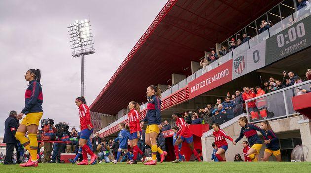 Atlético-Barça de la Liga