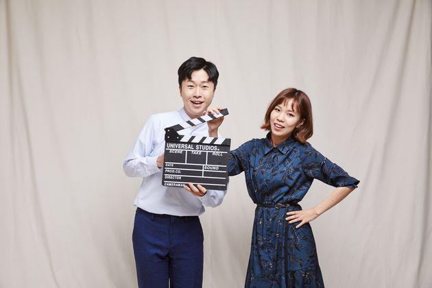 유튜버 '쭘이지부부'로 활동하고 있는 이지훈, 박주미씨 부부. 유튜브 방송 중 동거 경험을 밝힌 바