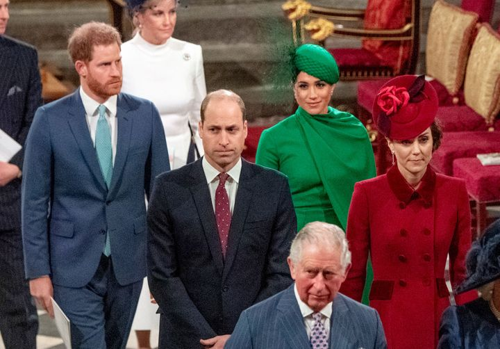 Prince Harry talked about his relationship with his father Prince Charles, and brother Prince William