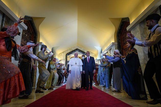 Il viaggio del Papa in Iraq, visto
