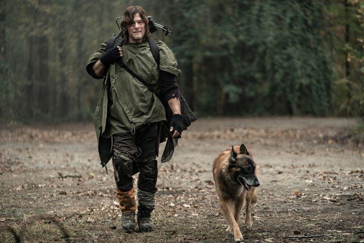 Daryl and his Dog.