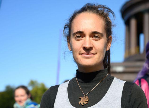 Carola Rackete, capitana de barco alemana que ha trabajado para la organización de rescate marítimo