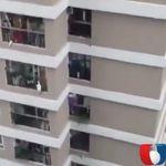 12階から女の子が落下、配達ドライバーが受け止めヒーローに【動画】