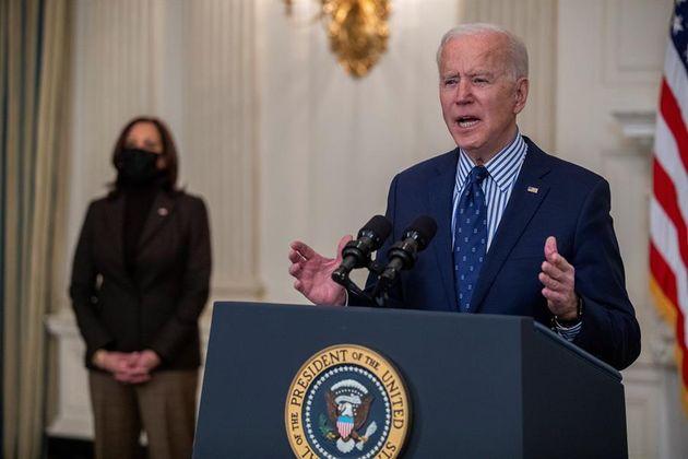 El presidente de Estados Unidos, Joe Biden, en la Casa