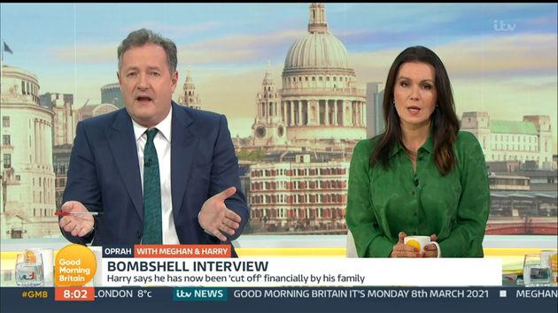 Piers Morgan and Susanna