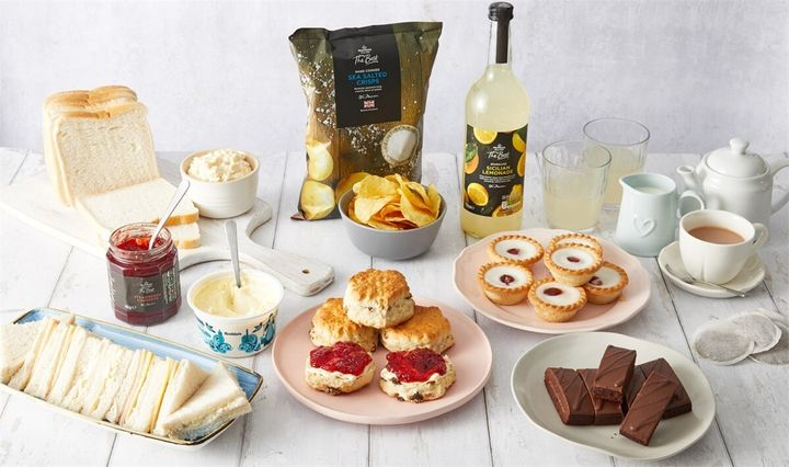 Morrisons Mother's Day Afternoon Tea Box (£20)