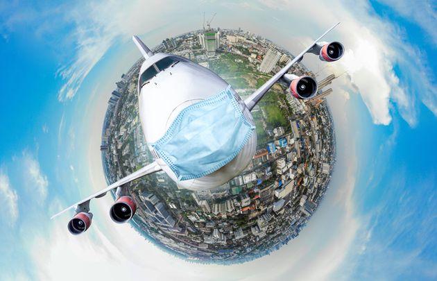 Simulación de un avión con