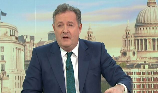 Piers Morgan on Monday's Good Morning