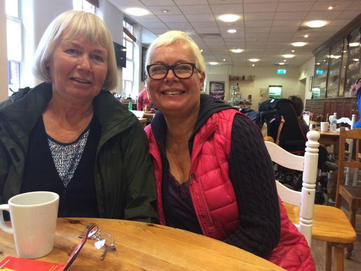 Jackie Hammerton and her mum